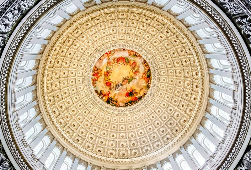The Apotheosis of Washington, US Capitol Building
