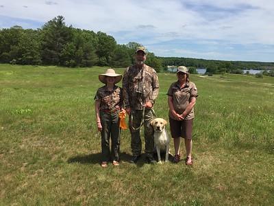 Brooks First Hunt test