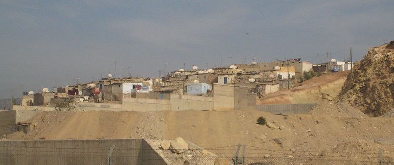 Agadir, Morocco - everybody has a satellite dish!