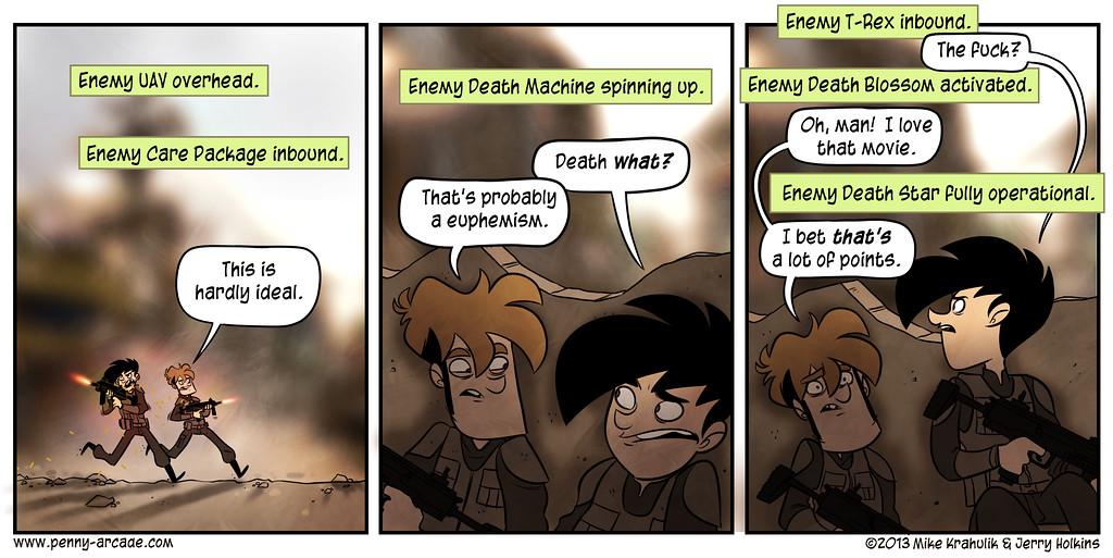 Comic Inbound
