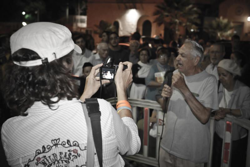 Nadia Matar photographs Ezra Yachin