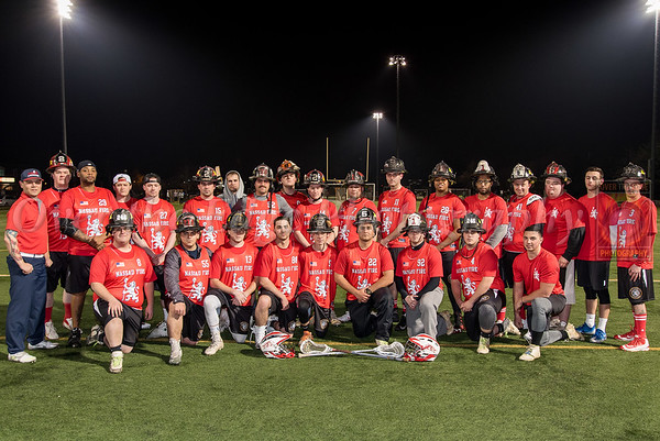 Nassau County Firefighters Lacrosse Club vs NYPD Lacrosse 04/11/2018
