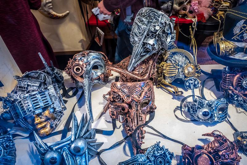 Masks for Carnival of Venice, 2017