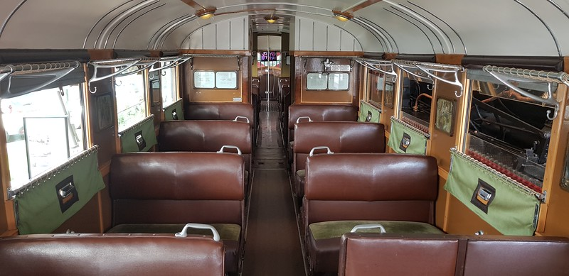 I must admit I could not tell the difference between this,the 1st class section and the second class section.