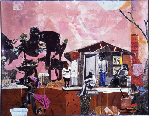 "Romare Bearden, ""Late Afternoon,"" 1979"