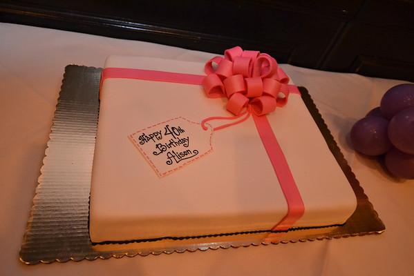 Alison's 40th Surprise Birthday Celebration
