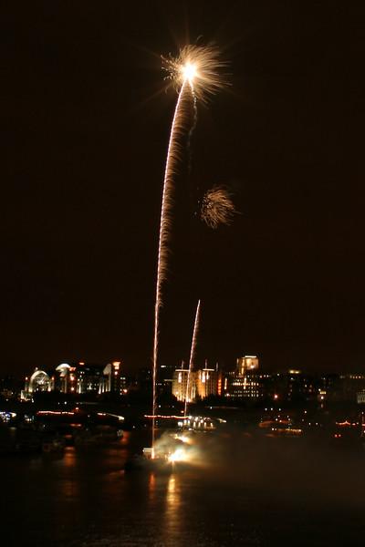 Thames Festival 2007 fireworks