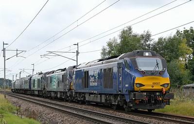 North West trains, 2021