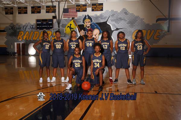 2018-2019 JV Girls Basketball