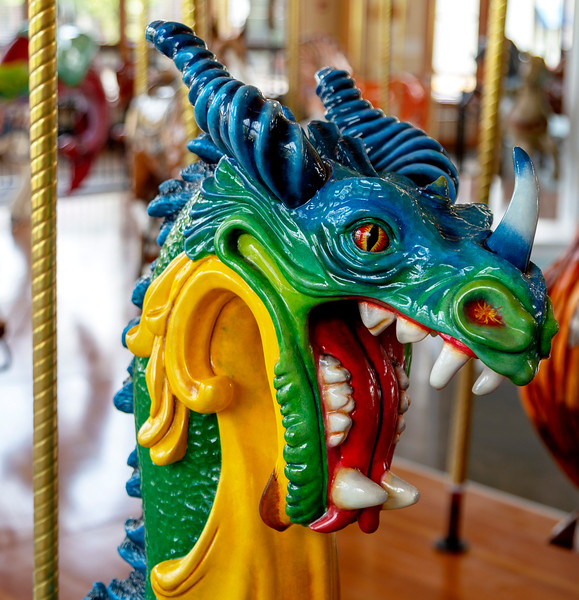 Egad!   A ride to frighten little children away ...