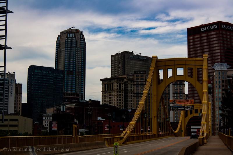 The Andy Warhol Bridge in Pittsburgh