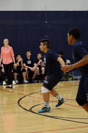 OE Fresh. B boys volleyball Vs Minooka 2016