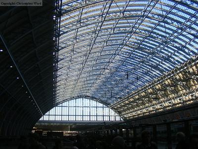 St Pancras International - November 2007
