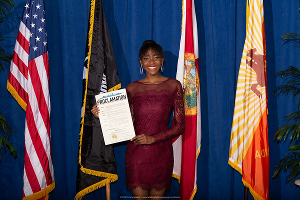 City Proclomation for Erica C