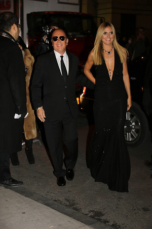 Heidi Klum at The amfAR Gala 02/06/2013