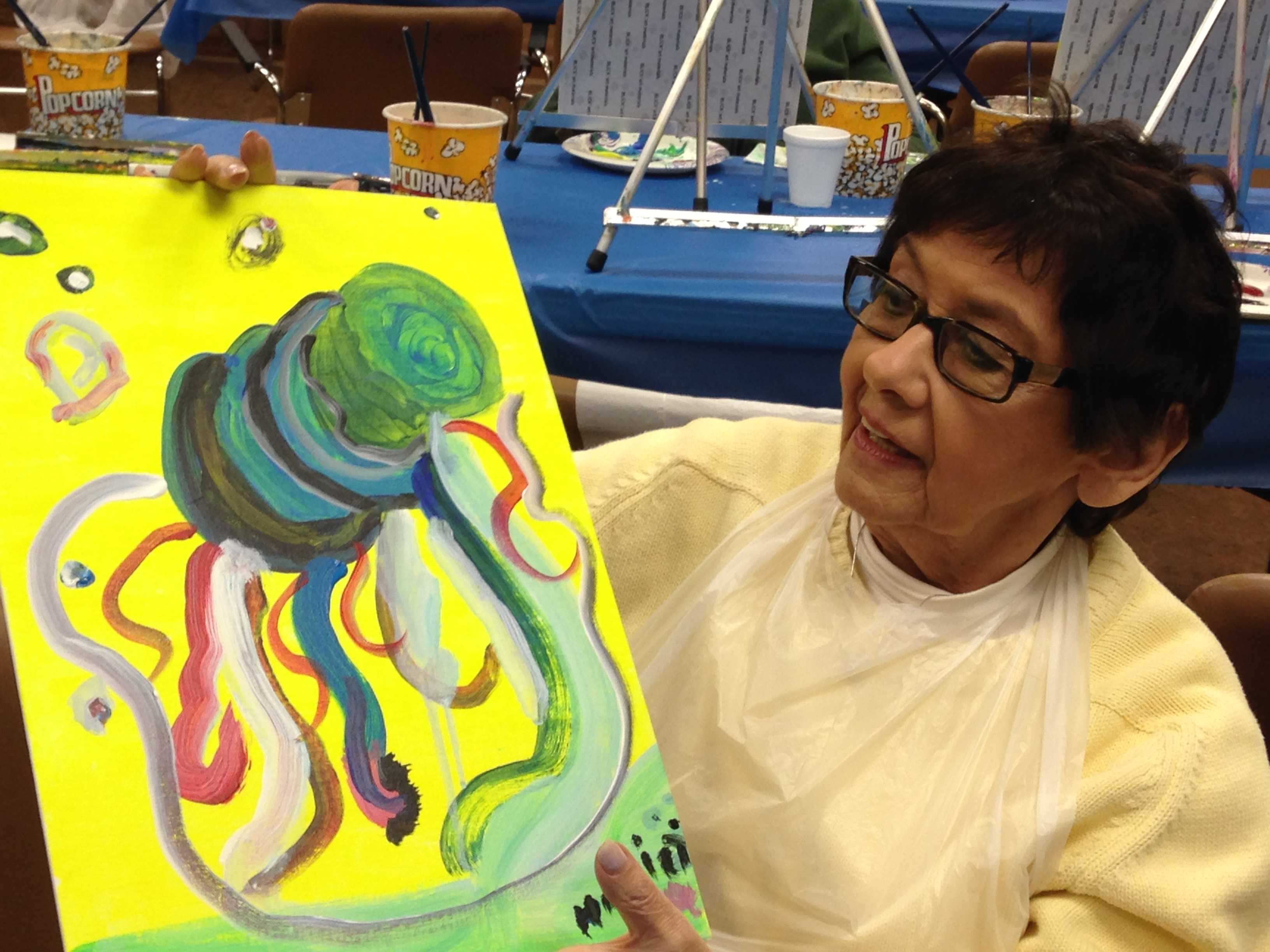 Stone Gardens Painting Party 1/13/15
