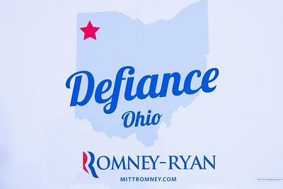 Mitt Romney - Defiance 10-25-2012