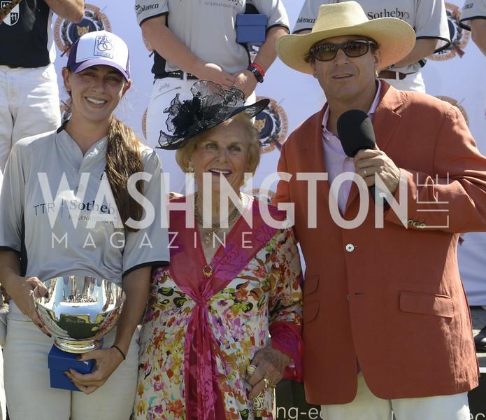 MVP Isabella Wolf, Jacqueline Mars, John Gobin,  NSLM 2019 Polo Classic Great Meadow Sep 15 2019 Photo by Nancy Milburn Kleck