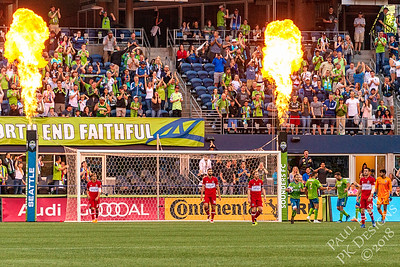 2018-06-23 - Sounders vs Chicago Fire FC