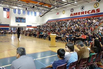 Americas High School House Bill 5 Community Meeting