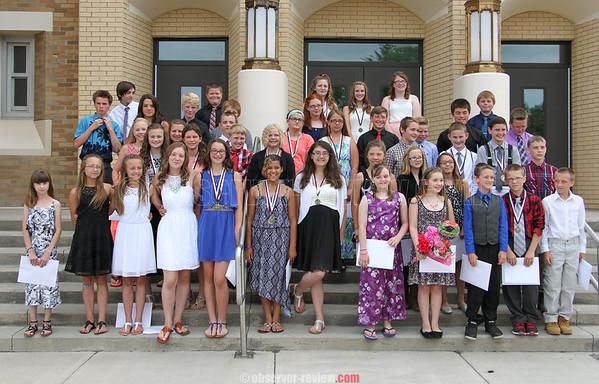 Dundee 6th Grade Graduation 6-23-16