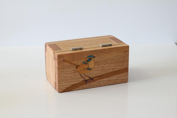 Blue Wren tea box