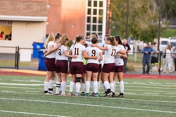 2017_10_04 GMHS Girls Soccer vs Stafford