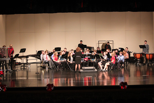 THS Concert Band Holiday Concert 2011
