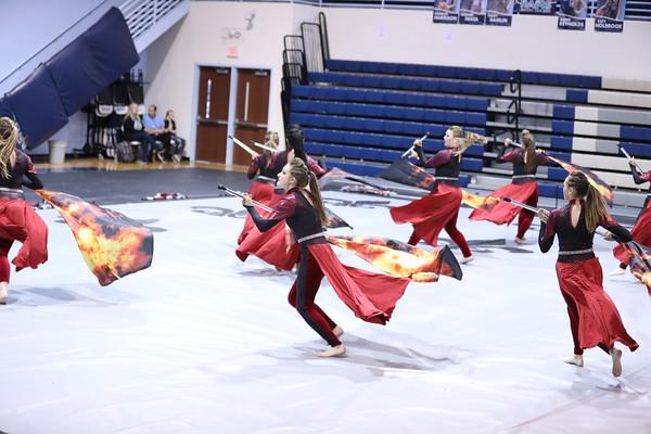 East Davidson Winter Guard
