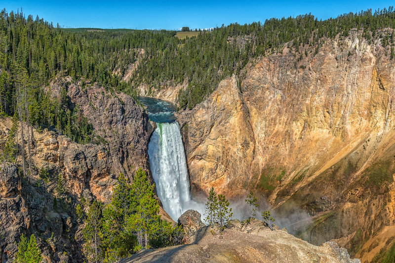 The Lower Falls of the Yellowstone