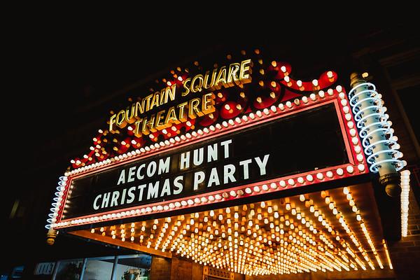 AECOM Hunt Christmas Party