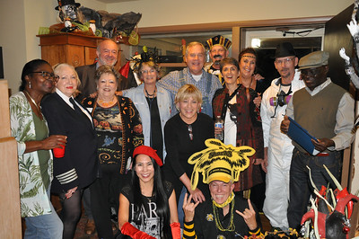 Halloween Party at the Miller's Oct 21, 2017