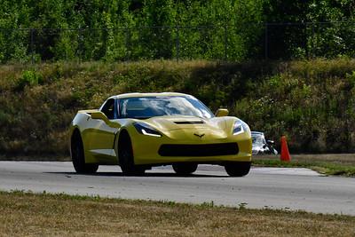 2020 SCCA TNiA July 29 Pitt Race Adv Yellow Vette New