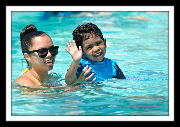 Swimming - Summer of 2011