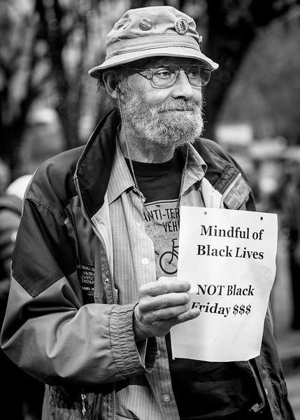 Mindful of Black Lives Not Black Friday $$$