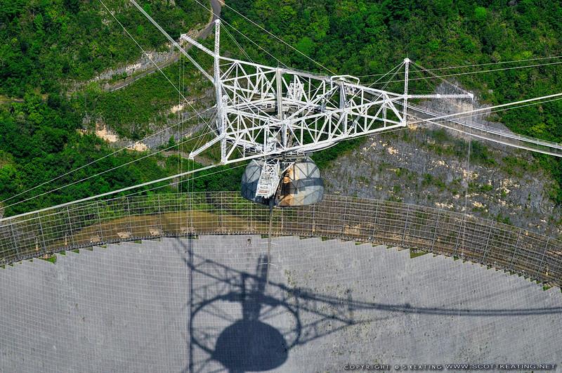 """Arecibo - Pr - Puerto Rico<br /> Arecibo Radio Telescope<br /> 18, 20' 39.1921"""" 66, 45' 9.31092"""""""