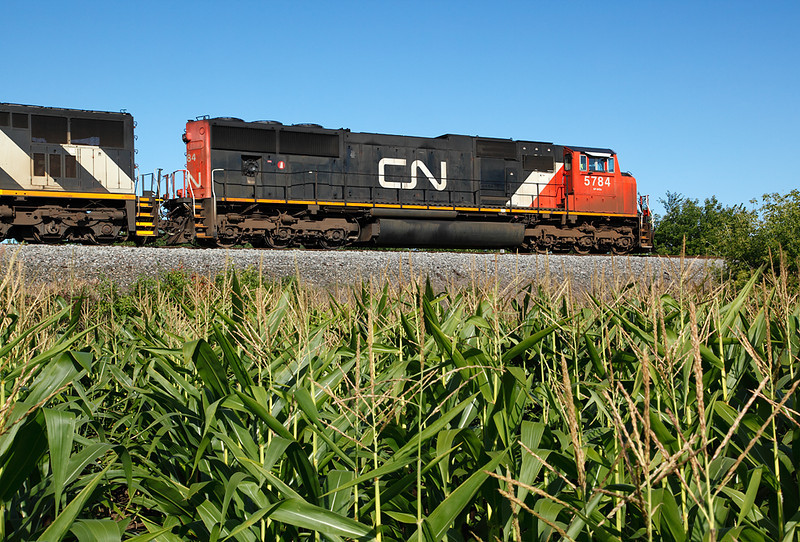Canadian National 5784 (GMD SD75I) - Richfield, WI