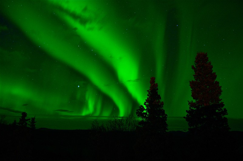 Northern Lights Tours in the Yukon Canada