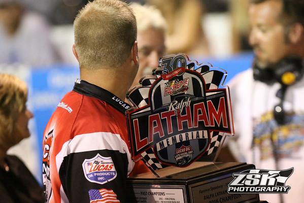 Ralph Latham Memorial @ Florence Speedway 8/11/16