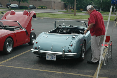 Lawrence All British Car Club Show ( Lawrence, KS)