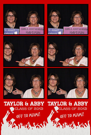 Taylor and Abby Grad Party