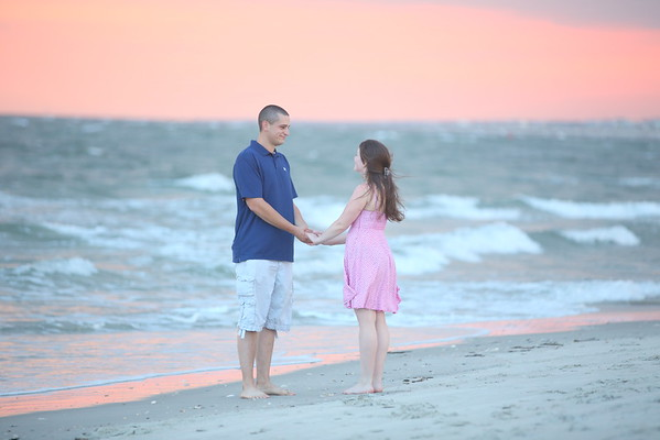 Oak Island Wedding Proposal