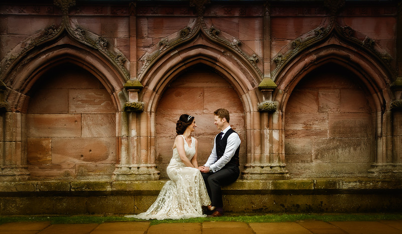Melrose Abbey Wedding Photographs