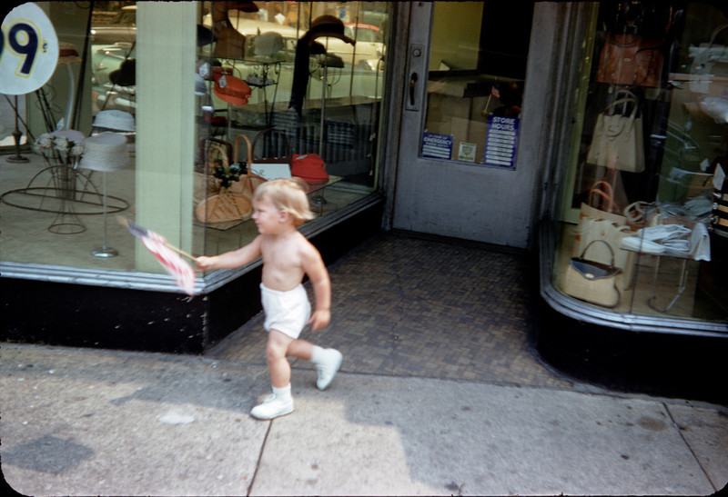 susan in front of store on 45st and greenpoint ave.jpg