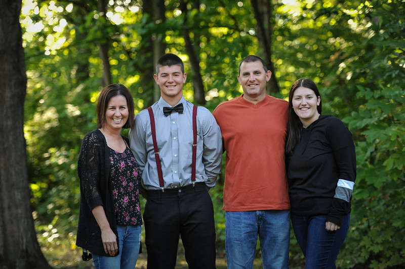 9-29-18 Bluffton HS HOCO - Nic Essinger (10th grade) and family-5.jpg