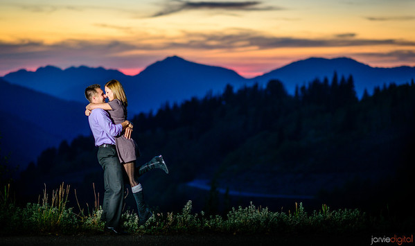 Big Cottonwood Engagements