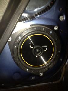 2008 Toyota Yaris Sedan Front Speaker Installation - USA