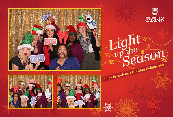 University of Calgary President's Holiday Celebration 2015