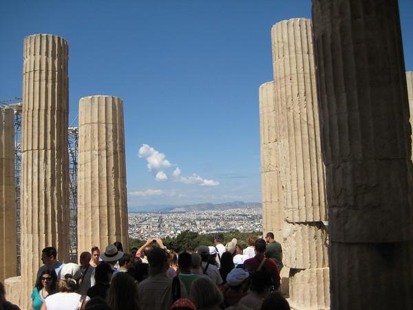 Touring Athens & The Acropolis