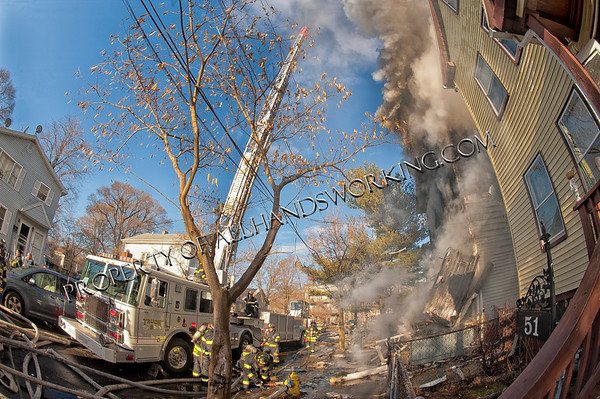 New Haven 2nd alarm 55 Redfield St